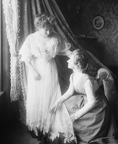 mother and daughter Wikimedia Commons Public Domain United States Library of Congress