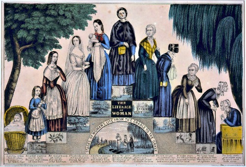 11-stages-womanhood-1840s-wikimedia-commons-public-domain-uploaded-by-churchh